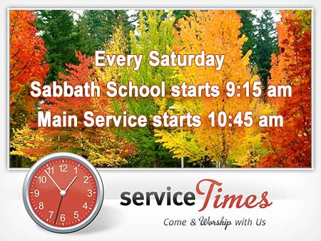 Service Times - Promo Image