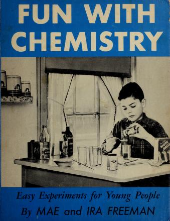 Cover of: Fun with chemistry | Mae Blacker Freeman